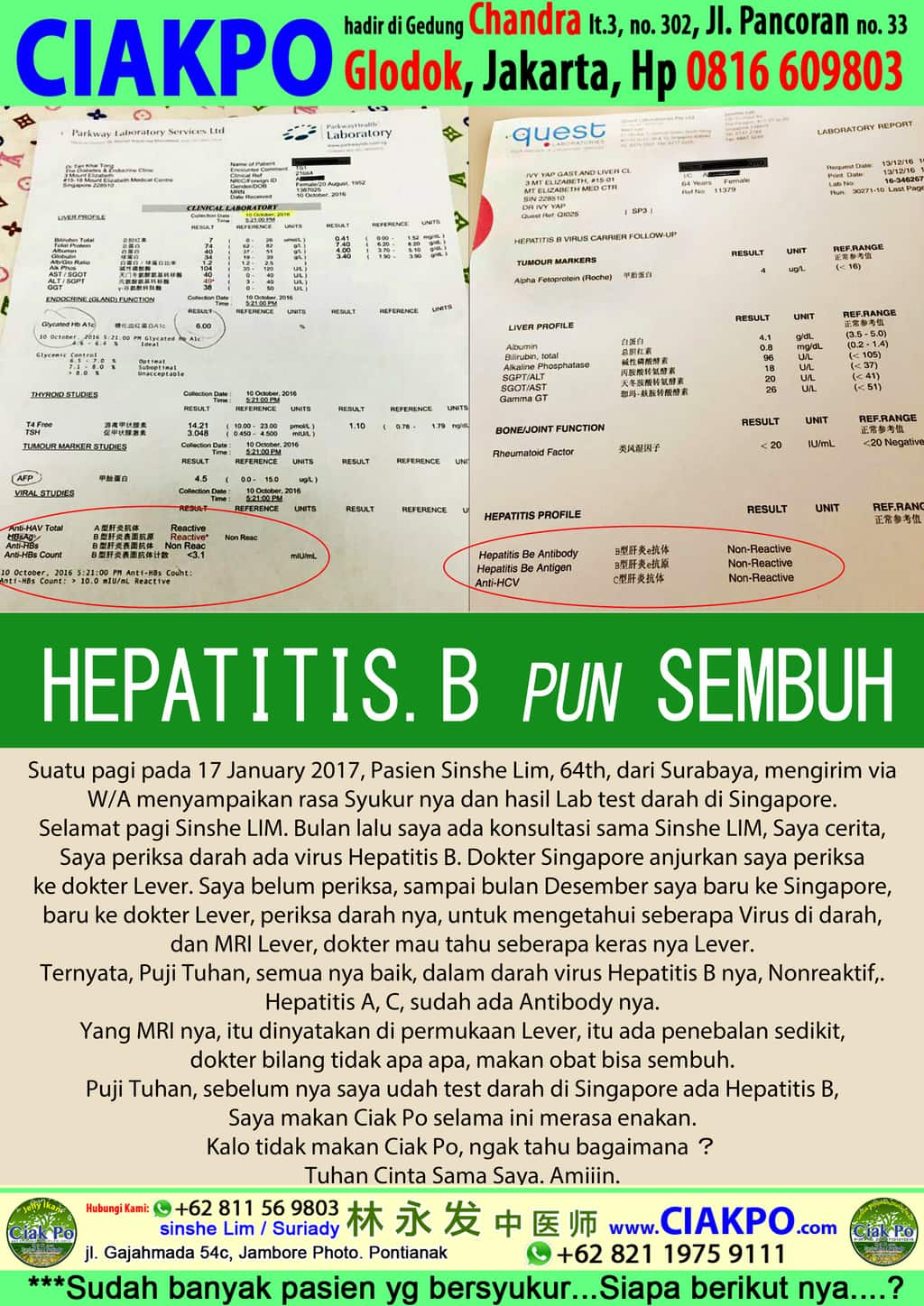 Hepatitis B Sembuh